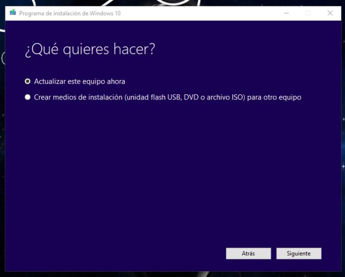 Windows 10 PRO Build 1709 Fall Creators Update En Español